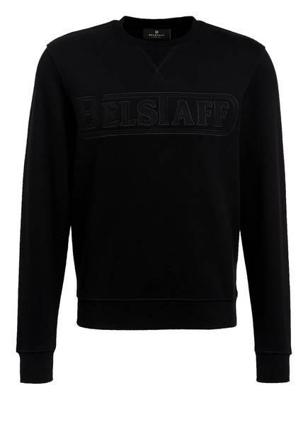 BELSTAFF Sweatshirt mit Patches, Farbe: SCHWARZ (Bild 1)