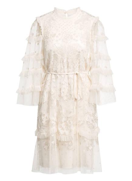 needle & thread Kleid mit Stickereien, Farbe: ECRU (Bild 1)
