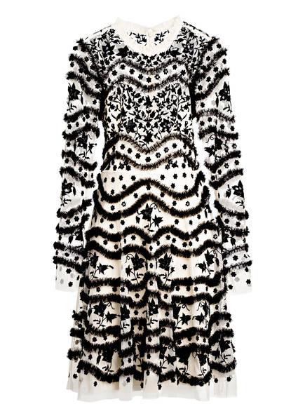 needle & thread Kleid mit Stickerei, Farbe: ECRU/ SCHWARZ (Bild 1)