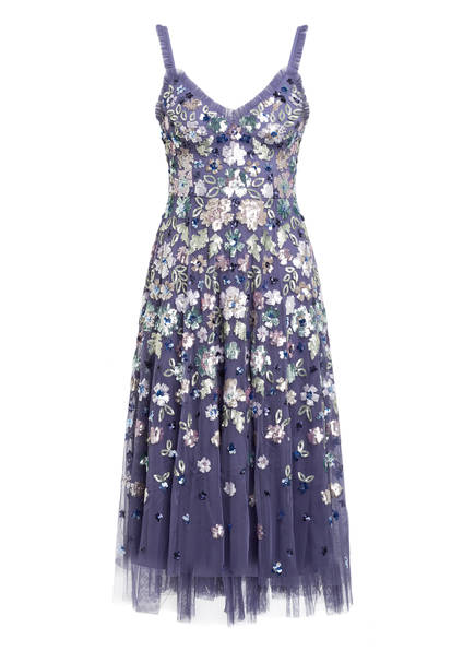 needle & thread Kleid mit Paillettenbesatz, Farbe: LILA/ MINT/ ROSA (Bild 1)