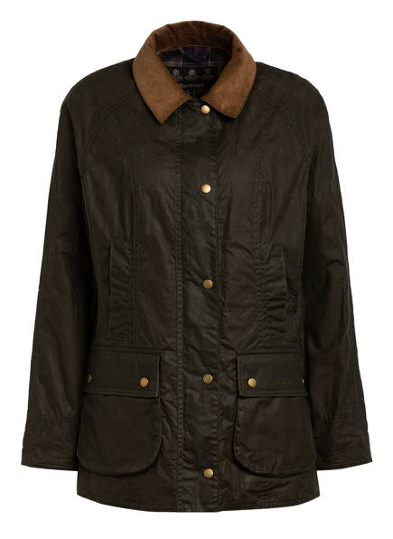 Barbour Fieldjacket BEADNELL, Farbe: DUNKELGRÜN (Bild 1)