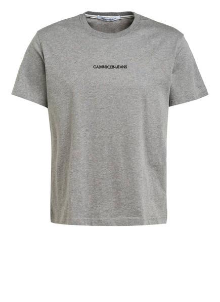 Calvin Klein Jeans T-Shirt, Farbe: GRAU MELIERT (Bild 1)