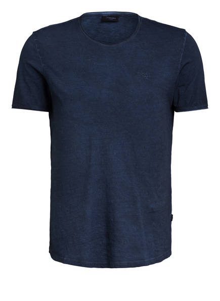 JOOP! JEANS T-Shirt CLARK, Farbe: DUNKELBLAU MELIERT (Bild 1)