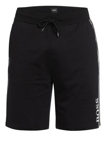 BOSS Lounge-Shorts AUTHENTIC mit Galonstreifen, Farbe: SCHWARZ (Bild 1)
