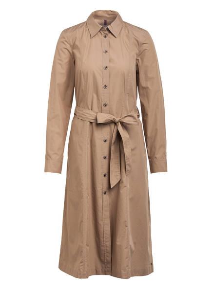 TOMMY HILFIGER Hemdblusenkleid LEA, Farbe: BEIGE (Bild 1)
