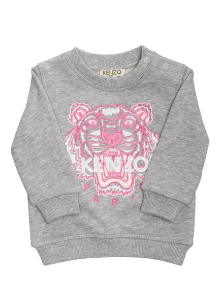 KENZO Sweatshirt TIGER, Farbe: HELLGRAU MELIERT (Bild 1)