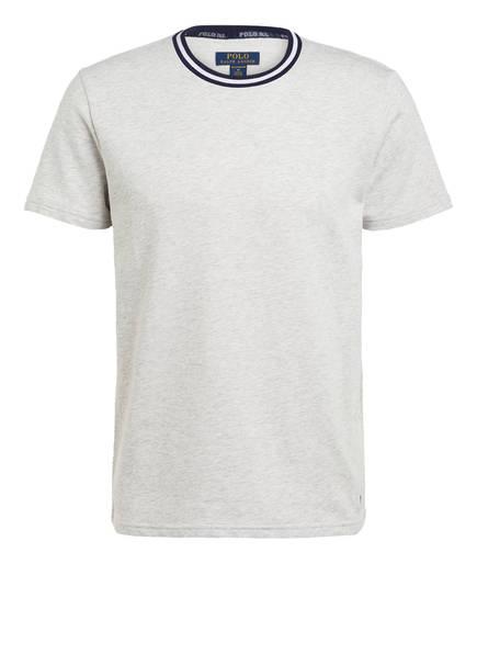 POLO RALPH LAUREN Lounge-Shirt , Farbe: HELLGRAU MELIERT (Bild 1)