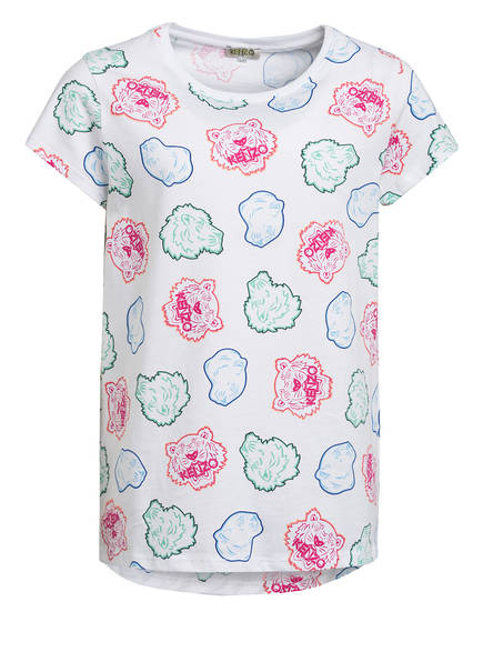 KENZO T-Shirt, Farbe: WEISS/ BLAU/ PINK (Bild 1)