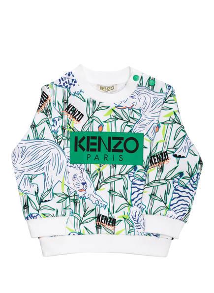 KENZO Sweatshirt, Farbe: WEISS/ GRÜN/ BLAU (Bild 1)