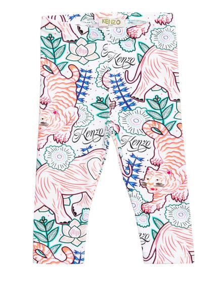 KENZO Leggings JINETTA, Farbe: WEISS/ LACHS/ PINK (Bild 1)