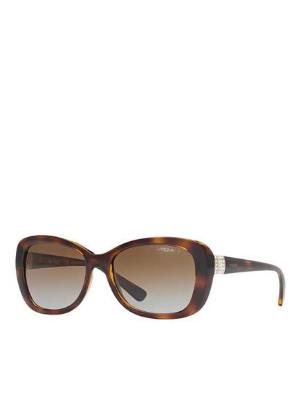 VOGUE Sonnenbrille VO2943SB, Farbe: W656T5 - HAVANA/ BRAUN VERLAUF (Bild 1)