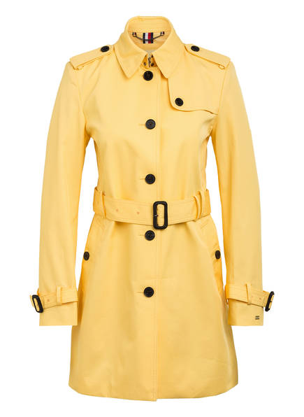 TOMMY HILFIGER Trenchcoat , Farbe: GELB (Bild 1)