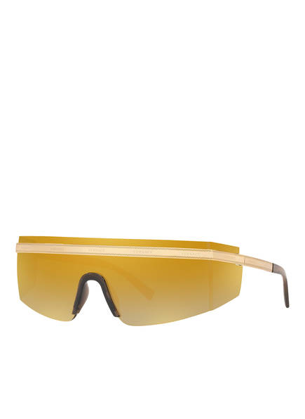 VERSACE Sonnenbrille VE2208, Farbe: 10027P - GOLD/ GOLD (Bild 1)
