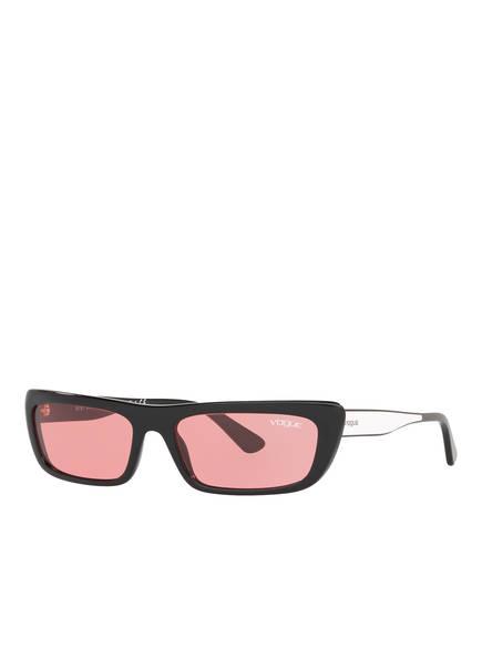 VOGUE Sonnenbrille VO5283, Farbe: W44/84 - SCHWARZ/ HELLROT (Bild 1)