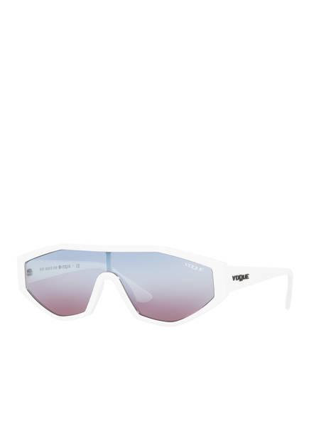 VOGUE Sonnenbrille VO5284S, Farbe: 27210K - WEISS/ HELLBLAU (Bild 1)