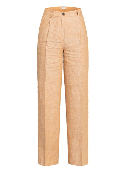 Pepe Jeans Marlenehose DALI aus Leinen, Farbe: HELLORANGE (Bild 1)
