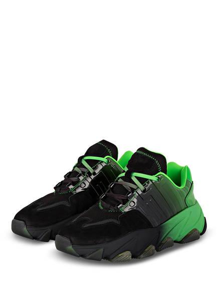ash Plateau-Sneaker ECSTASY, Farbe: GRÜN/ SCHWARZ (Bild 1)