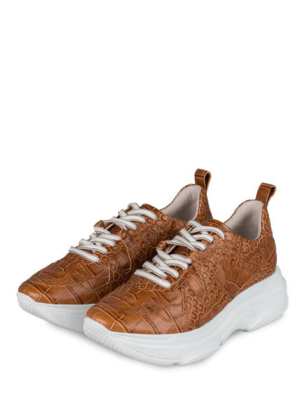KENNEL & SCHMENGER Plateau-Sneaker, Farbe: BRAUN (Bild 1)