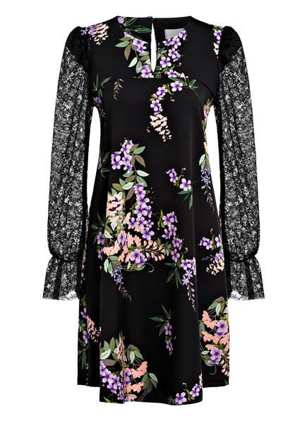 SEM PER LEI Kleid, Farbe: SCHWARZ/ HELLLILA/ GRÜN (Bild 1)