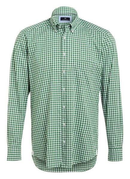 STROKESMAN'S Hemd Modern Fit, Farbe: GRÜN/WEISS/KARIERT (Bild 1)