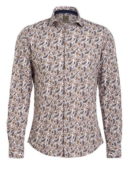 BENVENUTO Hemd PEMBRAKE Slim Fit, Farbe: WEISS/ BRAUN/ BLAU (Bild 1)