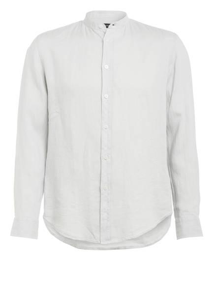 DRYKORN Leinenhemd TAROK Comfort Fit mit Stehkragen, Farbe: HELLGRAU (Bild 1)