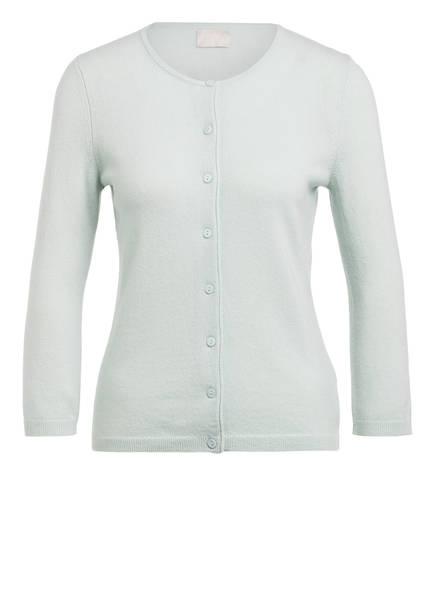 Mrs & HUGS Strickjacke aus Cashmere, Farbe: MINT (Bild 1)