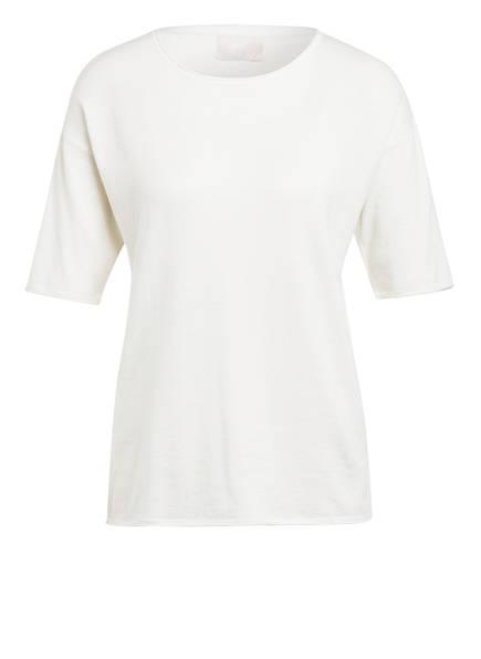 Mrs & HUGS Strickshirt mit Cashmere , Farbe: WEISS (Bild 1)