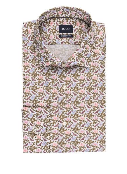 JOOP! Hemd MIKA Modern Fit , Farbe: WEISS/ KHAKI/ HELLBLAU (Bild 1)