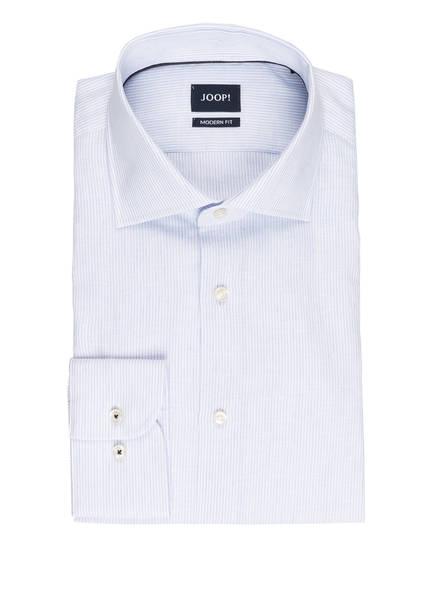 JOOP! Hemd MIKA Modern Fit, Farbe: WEISS/ HELLBLAU GESTREIFT (Bild 1)