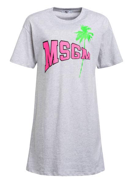 MSGM KIDS Kleid, Farbe: HELLGRAU MELIERT (Bild 1)