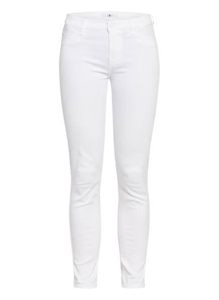 7 for all mankind Skinny Jeans THE SKINNY, Farbe: SLIM ILLUSION PURE WHITE (Bild 1)