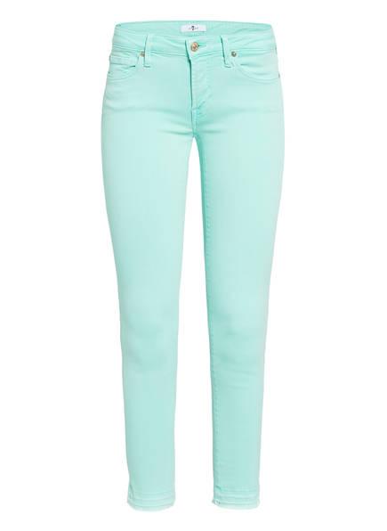 7 for all mankind 7/8-Jeans PYPER, Farbe: COLORED SLIM ILLUSION LIGHT BLUE (Bild 1)