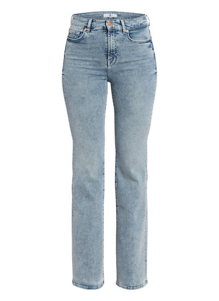 7 for all mankind Flared Jeans LISHA, Farbe: SLIM ILLUSION PIER LIGHT BLUE (Bild 1)