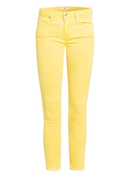 7 for all mankind 7/8-Jeans PYPER, Farbe: COLORED SLIM ILLUSION YELLOW (Bild 1)