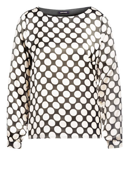 MORE & MORE Blusenshirt mit 3/4-Arm, Farbe: GRÜN/ ECRU (Bild 1)