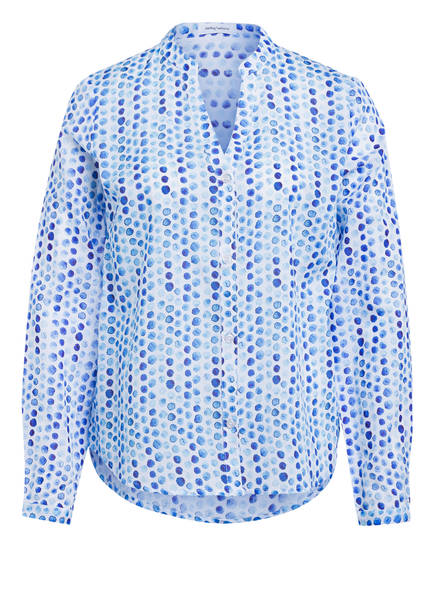 DARLING HARBOUR Bluse, Farbe: WEISS/ BLAU (Bild 1)