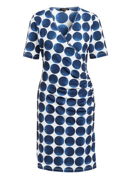 MORE & MORE Kleid in Wickeloptik , Farbe: BLAU/ WEISS (Bild 1)