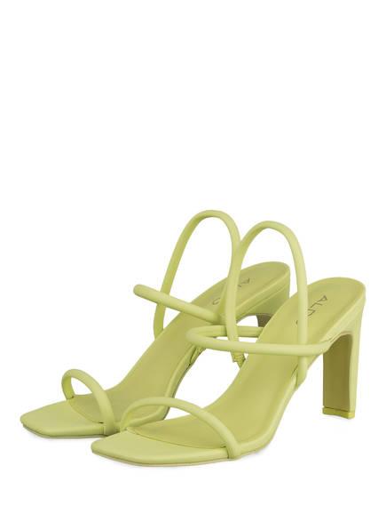 ALDO Sandaletten KARLA, Farbe: NEONGELB (Bild 1)
