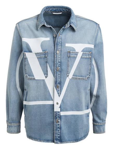 VALENTINO Jeans-Overshirt, Farbe: BLAU (Bild 1)
