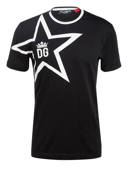 DOLCE&GABBANA T-Shirt, Farbe: SCHWARZ/ WEISS (Bild 1)