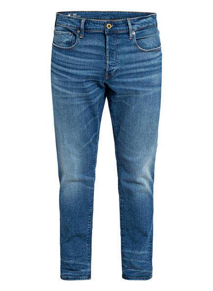 G-Star RAW Jeans 3301 Straight Tapered Fit, Farbe: A795 WORN IN AZURE BLUE (Bild 1)