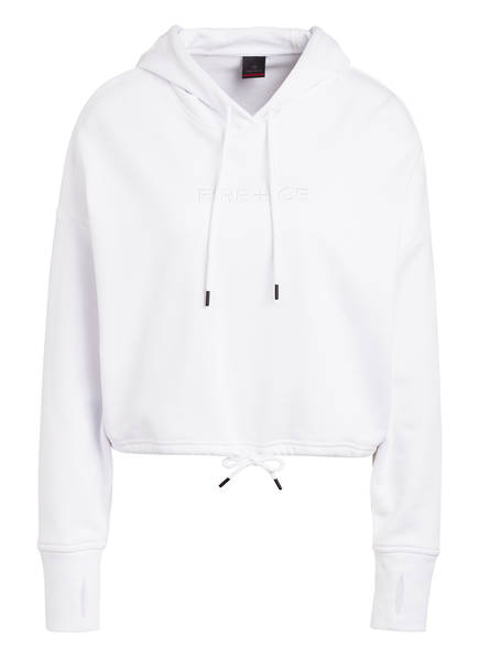 FIRE+ICE Cropped-Hoodie ADDY, Farbe: WEISS (Bild 1)