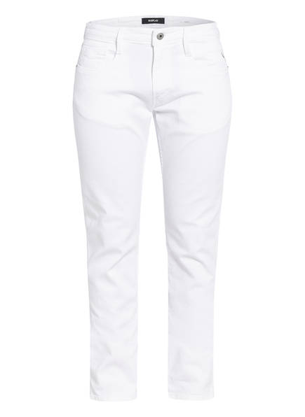 REPLAY Jeans ANBASS Extra Slim Fit, Farbe: 001 WHITE (Bild 1)
