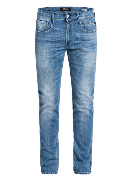 REPLAY Jeans ANBASS Extra Slim Fit, Farbe: 010 LIGHT BLUE (Bild 1)