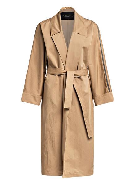FABIANA FILIPPI Mantel mit Galonstreifen, Farbe: BEIGE (Bild 1)