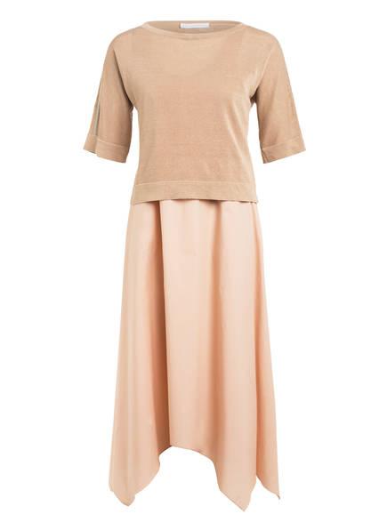 FABIANA FILIPPI 2-in-1-Kleid, Farbe: BEIGE/ NUDE (Bild 1)