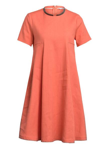 FABIANA FILIPPI Kleid mit Leinen, Farbe: APRICOT (Bild 1)