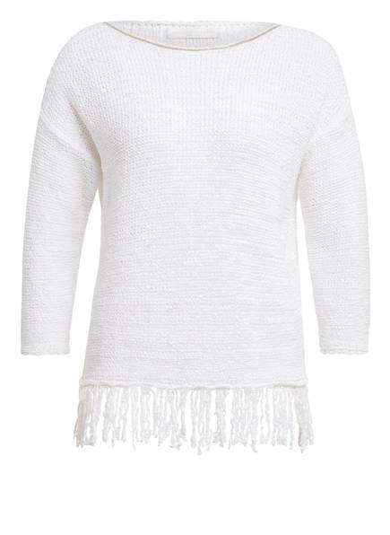 FABIANA FILIPPI Pullover, Farbe: WEISS (Bild 1)