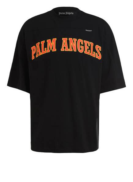 Palm Angels T-Shirt, Farbe: SCHWARZ/ ORANGE (Bild 1)